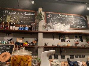 高円寺「Porta Coffee Stand」の店内