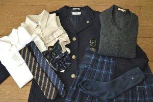 講倫館高校の制服