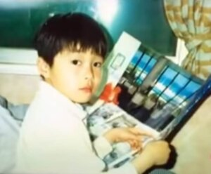 当時6歳の田中圭さん