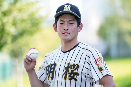 風間球打の出身中学は甲州市立塩山!秋田の明桜高に進学した理由は?