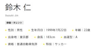 鈴木仁さんの出身地